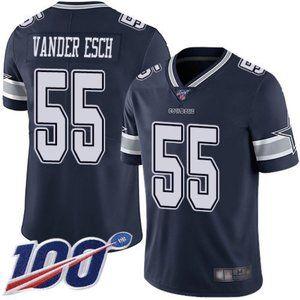 Cowboys Leighton Vander Esch 100th Season Jersey 2